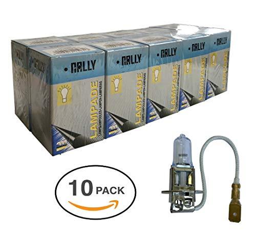 Melchioni Lampe 322399340 H3 12 V 55 W pk22s-confezione de 10 unités, Lot de 10