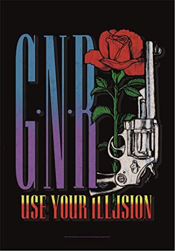 Guns N' Roses Gun Flagge Standard