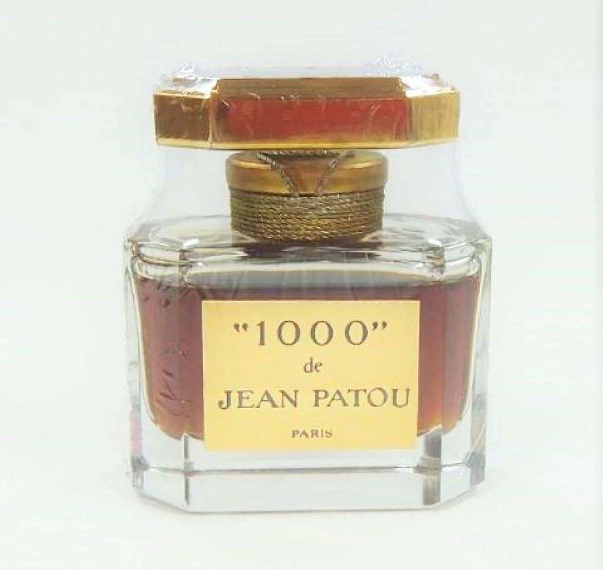 タンパク質横たわる負荷【箱?ケース無し】 JEAN PATOU ジャンパトゥ ミル 1000 Parfum 15ml (並行輸入)