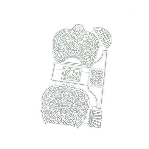 Plantillas de troquelado para hacer tarjetas, tarjeteros, álbumes de recortes, tarjetas, artesanía, decoración de álbumes de recortes, suministros