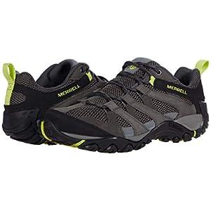 Merrell mens Alverstone Hiking Shoe, Granite/Keylime, 11 US