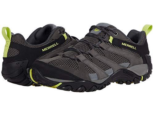Merrell mens Alverstone Hiking Shoe, Granite/Keylime, 10.5 US