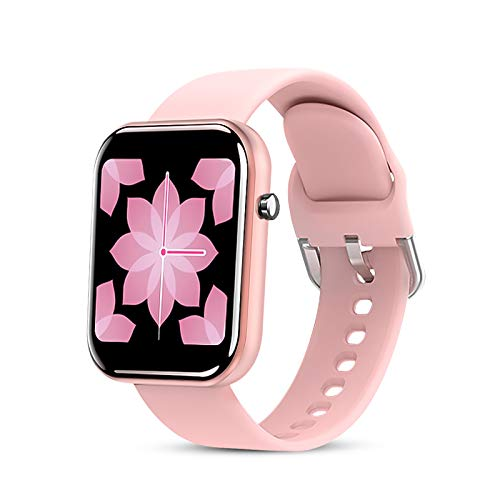 Smart Watch for Women, Fitness Tracker IP67 Waterproof Color 1.54'' Full Touch Screen Fitness Watch Bluetooth Smartwatch with Heart Rate/Sleep Monitor Pedometer SMS Notification for iOS Android