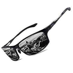 Bircen Polarized Sunglasses for Men Women UV Protection Driving Golf Fishing Sports Sunglasses