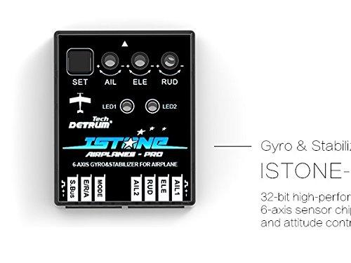 DYNAM Detrum IstonePro 6-Axis Gyro Gyroscope RC Flight Control W/ ABS Auto Balance System