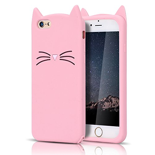 Cover iPhone 6S Custodia iPhone 6 Bianco Moevn 3D Carino Fumetto