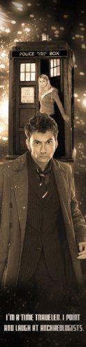 David Tennant Doctor Who Bookograph Metal Bookmark