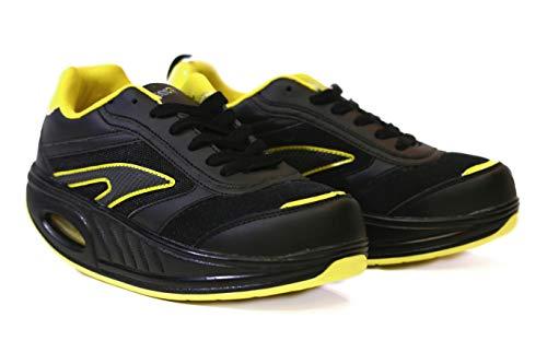 Fitness Step Black/Yellow (40)
