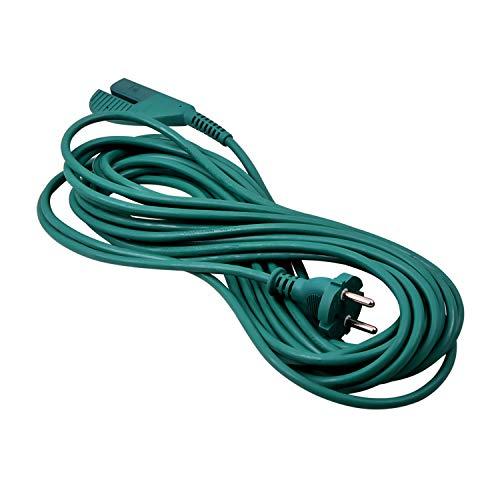 Anschlusskabel Stromkabel wie Vorwerk Kobold Ersatzkabel für Staubsauger Kabel 10m VK 135 VK 136 Handstaubsauger Stielstaubsauger
