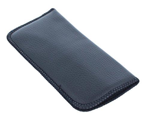 Brillenetui SLIPIN in schwarz | weiches Einstecketui | NEU (schwarz)