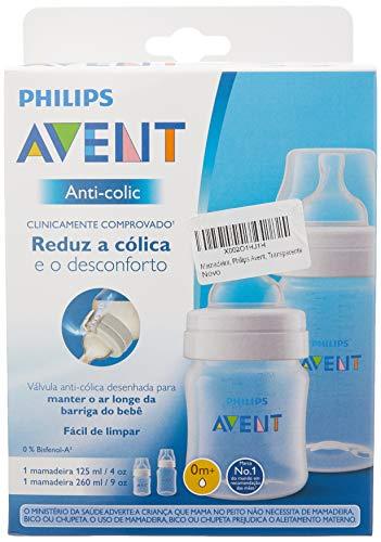 Mamadeira, Philips Avent, Transparente