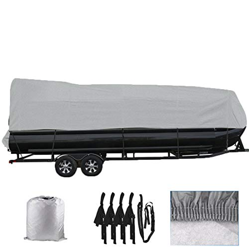 WFLNHB 21-24 Boat Cover Waterproof Trailerable Heavy Duty Pontoon Beam 102