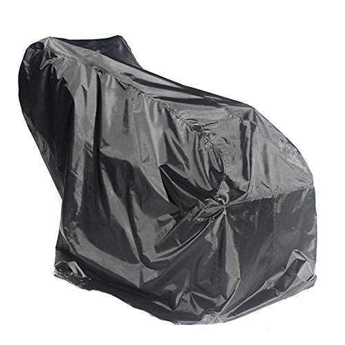 Bclaer72 Schneefräsenabdeckung aus strapazierfähigem Polyester, wasserdicht, UV-Schutz, Universalgröße für die meisten elektrischen zweistufigen Schneefräsen
