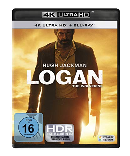 Logan - The Wolverine (4K Ultra-HD) [Blu-ray]