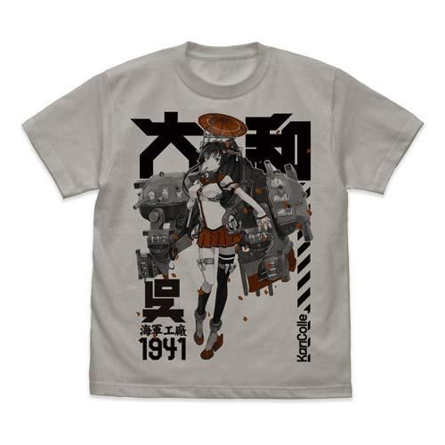 艦隊これくしょん -艦これ- 大和 Tシャツ/LIGHT GRAY-M