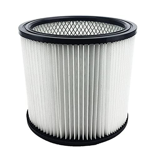 NewIncorrupt Shop Vac 90304 9030400903-04-00 Cartucho de filtro de aspiradora Reemplazo del filtro para el aire fresco más limpio