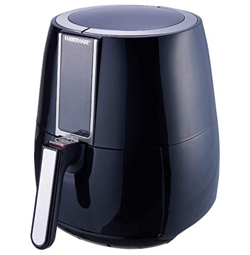 3.2-Quart Digital Oil-Less Fryer, Black