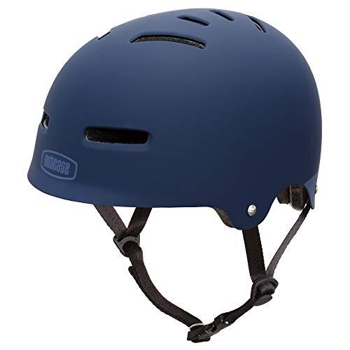Nutcase Zone - Casco de Bicicleta - Azul Contorno de la Cabeza S | 50-54cm 2019