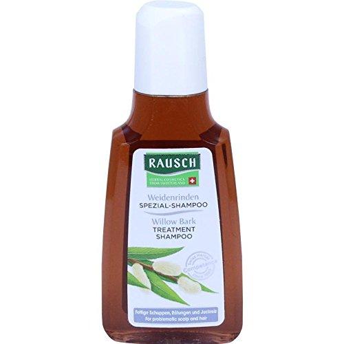 Rausch Weidenrinden Spezial-Shampoo (Kräuter gegen fettige Schuppen, Rötungen und Juckreiz in bewährter Qualität - Vegan) (1 x 40 ml)