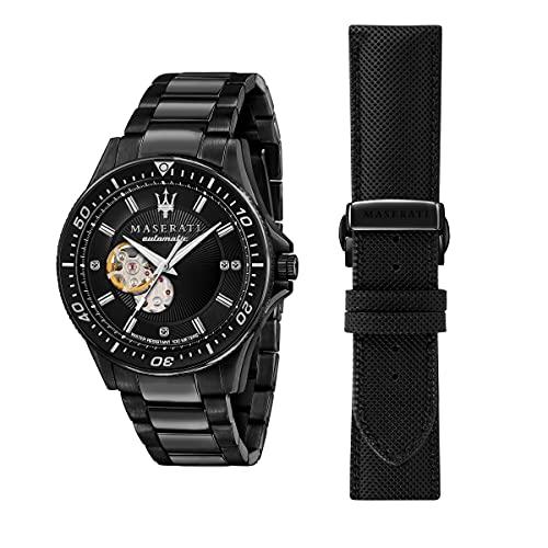 Maserati Sfida Reloj Hombre, Automático, Solo Tiempo - R8823140005