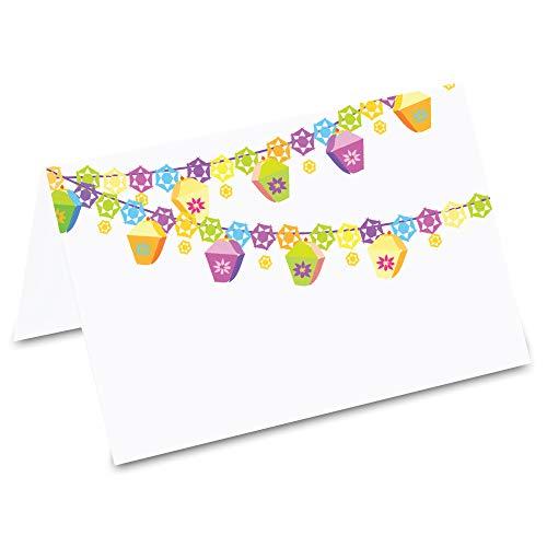 Pricaro tafelkaarten, party slinger, 50 stuks