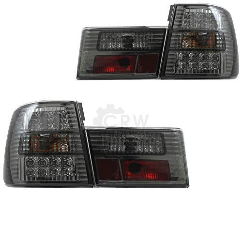 Design Rückleuchten Set links & rechts E34 4-tür 88-95 Klarglas