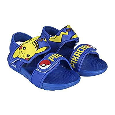 Pokemon 2300003050, Zapatos para Agua para Niños, Azul, Amarillo, 22/23 EU por Cerdá
