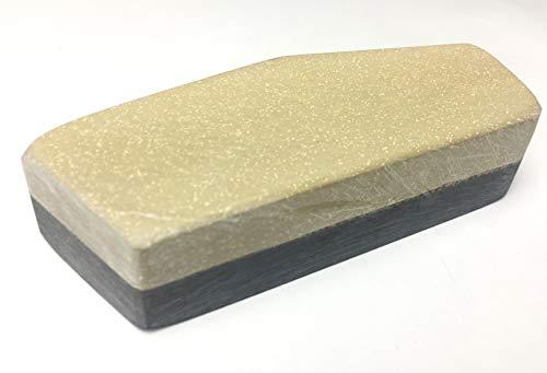 Schleifstein Gelber Belgischer Brocken Grösse 5 (34-38 cm²) Messer-Schärfer Werkzeug-Schärfer