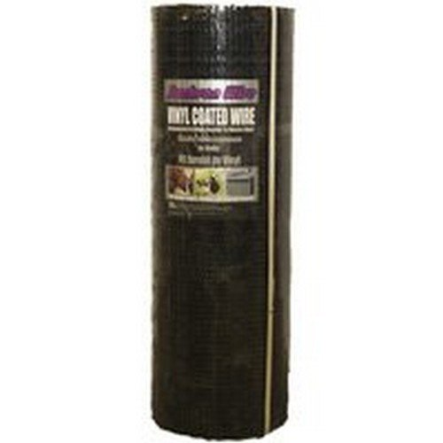 JACKSON WIRE 11033824 Vinyl Hardware Cloth, 1/2' x 36' x 100'