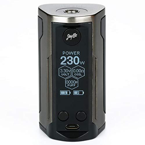 Wismec Reuleaux RX GEN3 Dual Akkuträger 230 Watt, Farbe:brushed gunmetal