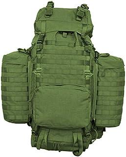 ELITE BAGS QVM-00117/02-VD Mochila táctica de campaña Operaciones Especiales, Color Verde Oscuro