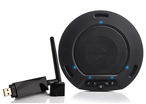 HuddleCamHD Black HuddlePod Air Wireless USB Speakerphone