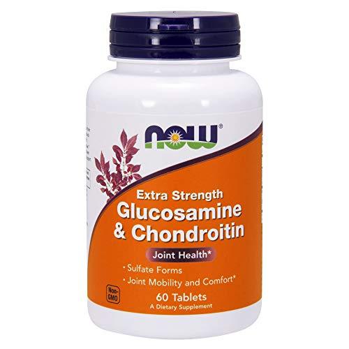 Now Foods Glukozamina, 60 tabletten