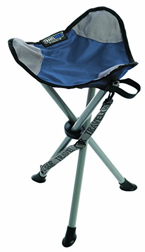 TravelChair Slacker Chair, Tripod Stool, Blue