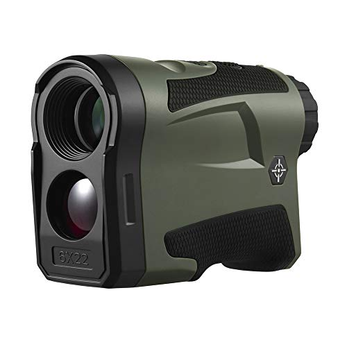 ALRY Golf-Entfernungsmesser, Technischer Entfernungsmesser, 650 Yards Laser-Entfernungsmesser Mit Neigung, Flag-Lock Mit Schwingungsdistanz- / Geschwindigkeits- / Winkelmessung