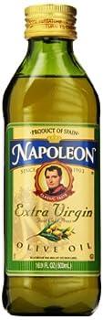 Glass Napoleon Extra Virgin Olive Oil 16.9 Ounce
