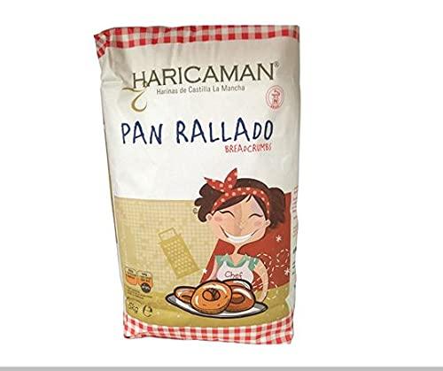 PAN RALLADO HARICAMAN SACO 5 KG