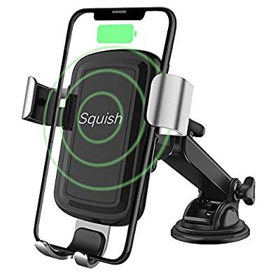 Squish Wireless Charger Car Phone Mount Qi Wireless