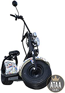 ATAA CityCoco Matriculable Picasso - Patinete Scooter elé