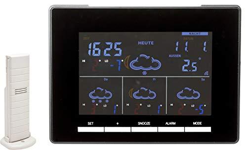 Technoline WD 4027 Wetterstation Wettervorhersage für 4 Tage, fabiges Display