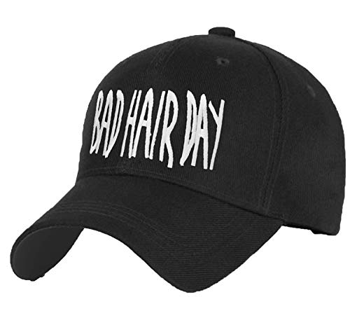 Baumwolle Baseball Cap Caps ANT Ameise COCAINE CAVIAR Bad Hair Day schwarz with Adjustable Strap Snapback