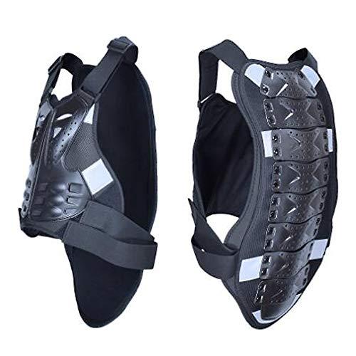 HUOFEIKE Motorrad Rüstung Oben, Rückenschutz Hartschale Anti-Fall Eva Schwamm Rüstung Anzug geeignet für Rollschuhlaufen Skifahren Skateboardfahren im Freien Reiten,M