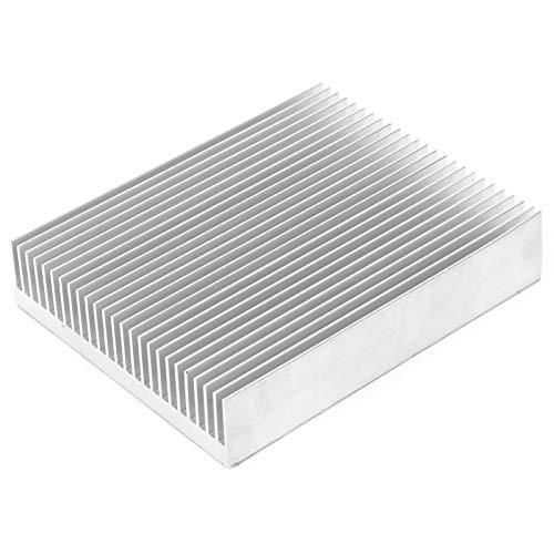 Módulo de refrigeración, disipador de calor de dientes finos ranurados 1 PCS para CPU para amplificador para módulos para disipador de calor IC para enrutador para PCB para placas base para