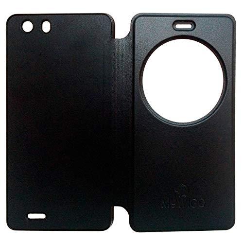 MYWIGO MWG CO579-B Funda para teléfono móvil Folio Negro - Fundas para teléfonos móviles (Folio, Universal, Negro)