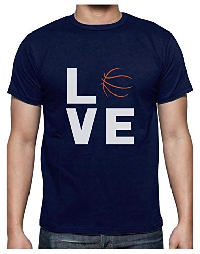 Green Turtle Camiseta para Hombre - Baloncesto Regalos Originales, Regalo para Entrenador Baloncesto - Love Basketball Large Azul Oscuro