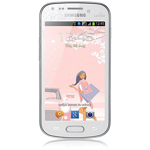 'Samsung Galaxy S Duos GT-S7562Dual SIM 4GB weiß–Smartphone (10,2cm (4), 4GB, 5MP, Android 4.0, Weiß)