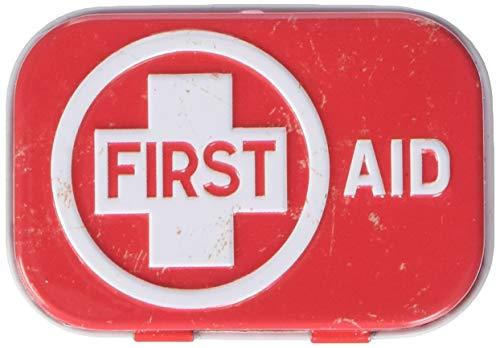 Nostalgic-Art First Aid Red | Pillen-Dose | Bonbon-Box | Metall | mit Pfefferminz-Dragees