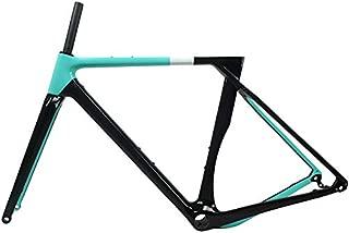 Tideace 2019 Flat Mount Disc Brake Full Carbon Gravel Frame Cyclocross Bike Frames Disc Brake 700x40C Gravel Bike Carbon Frameset
