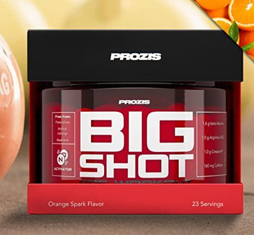 Prozis Big Shot 23 servings - pre workout pre allenamento concentrato (fresh cola)
