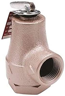 """30 Lb Boiler Relief Valve 3/4"""" by Watts"""